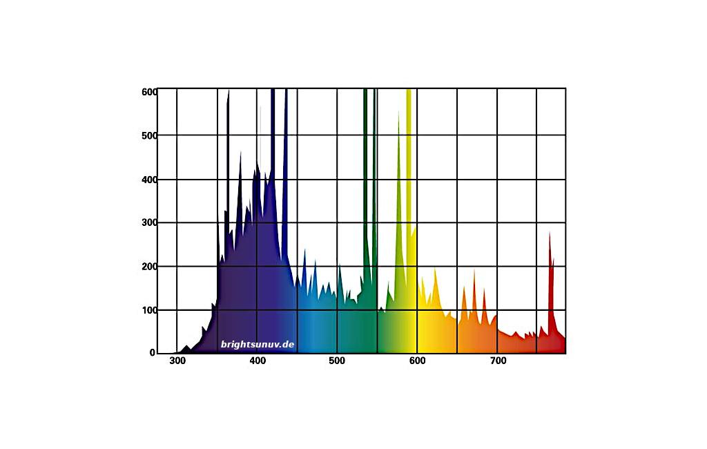 Lichtspektrum Bright Sun FLOOD Desert Lucky Reptile