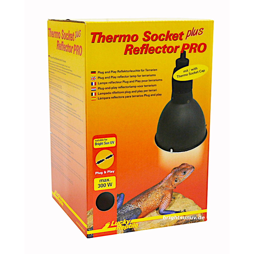 Thermo Socket plus Reflector PRO Lucky Reptile